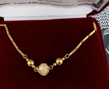 CAMROSE & KROSS JACQUELINE KENNEDY JBK CAGED PEARL GOLD  LINK NECKLACE NEW