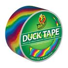 Rainbow Print ~ Duck Brand Duct Tape ~ Multi Color Printed Series ~ 10yds