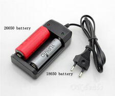 Universal 26650 18650 16340 14500 Auto Off Charging Li-ion Battery Charger IDXX