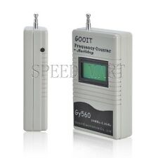 Frequency Counter Meter Tester Gray Mini Handheld Gy560 New Tech