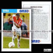 EVRA PATRICE (AS MONACO) - Fiche Football 2003