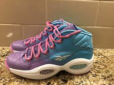 REEBOK V72789 QUESTION MID Easter GS size 7Y Violet/Blue Allen Iverson