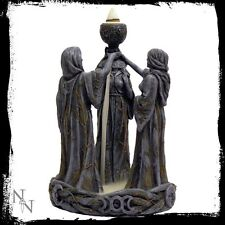 NEMESIS NOW *MOTHER MAIDEN & CRONE* BACKFLOW INCENSE BURNER OCCULT/WITCH BNIB