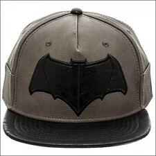 Dawn of Justice Batman v vs Superman DC Comics Snapback PU Faux Leather Hat Cap