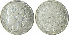 III°  REPUBLIQUE  ,   2  FRANCS  CERES   ARGENT  ,   1881  A  PARIS  QUALITÉ