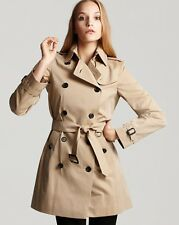 2016 Burberry London Buckingham Trench Coat Jacket Honey Size 10 (44EU $1295 NEW