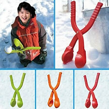Winter Snowball Makers Pliers Former Snowball Fights Clip Kids Play Fun Toys New
