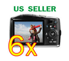 6x Canon PowerShot SX150 IS Clear LCD Screen Protector Guard Shield Film