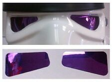 Mirror Film Lenses in Colour PURPLE compatible with Stormtrooper Costume Helmets