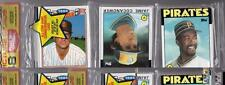 1986 Topps BASEBALL CARD Unopened Rack Pack ANDRE DAWSON Expos Showing