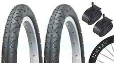 2 GOMME PER BICICLETTE BICI GOMME-BMX / Freestyle - 12 1/4 X 2 1/4-CON Schrader TUBI