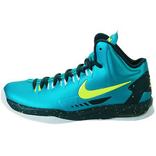 NIKE KD V HULK SIZE 3.5 YOUTH ATOMIC TEAL 555641 300 RARE!