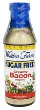 Walden Farms - Sugar Free Salad Dressing Creamy Bacon - 12 oz.