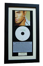 ENRIQUE Escape CLASSIC CD Album GALLERY QUALITY FRAMED+EXPRESS GLOBAL SHIPPING