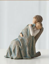 Willow Tree The Quilt figurine #26250 mother child grandmother rocker DEMDACO