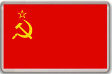 USSR SOVIET UNION FLAG FRIDGE MAGNET IMAN NEVERA