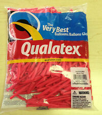 Qualatex Neon Pink 260Q Entertainer Balloons ~100 ct.