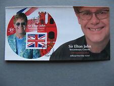 GIBRALTAR, cover FDC 2004, S/S Elton John Concert, music