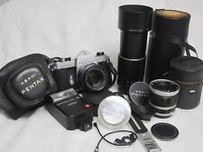 Asahi Pentax Spotmatic 35mm SLR Camera with SMC Takumar 50mm f/1.4 Lens bundle