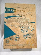 Vintage Structo #908 Air Terminal Service Set in the Original Box