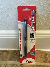 Pentel P1035P Sharp Kerry Mechanical Pencil, 0.50 mm, Metallic Blue Barrel