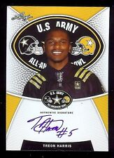 TREON HARRIS - Florida Gators 2014 Leaf Army TOUR Certified AUTOGRAPH RC