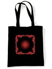 CELTIC FIRE SHOULDER  SHOPPING BAG - Pagan Druid Wicca Goth Gothic -