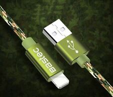 Long Camouflage Lightning USB Charger Cable Sync for iPhone 7 6 6S Plus Original