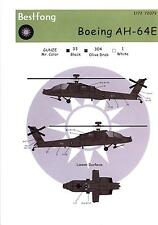 Bestfong Decals 1/72 BOEING AH-64E APACHE Attack Helicopter ROCAF