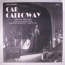CAB CALLOWAY: Cab Calloway LP Jazz