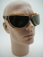 VINTAGE 30's ITALIAN RACER AVIATOR MOTOR CAR RACING GOGGLES MOTORCYCLE ART DECO