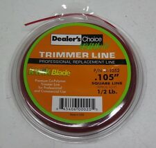 "1/2 lb pound .105"" STRING TRIMMER LINE Square Professional / Commercial Use"