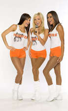 NEW HOOTERS SEXY UNIFORM HALLOWEEN COSTUME W/SOCK/HOSE RARE FLORIDA SIZE SM/MED