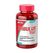 Met-Rx TRIBULUS 750 Muscle Builder 90 caps Testosterone Booster 3 X Stronger