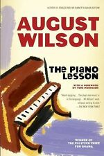 Drama, Plume Ser.: The Piano Lesson by August Wilson (1990, Paperback)