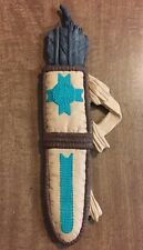 "Native American Southwestern Decorative Wall Pottery Art Bow & Arrows 13.5""X4.5"""