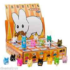 "Frank Kozik for Kidrobot Labbits Happy Mini Series 1.5"" Complete Box SEALED RARE"