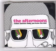 (GB55) The Afternoons, Rocket Summer - 2005 sealed CD
