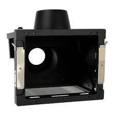 New Fotodiox Pro Ebony 4x5 Right Angle View Finder Hood