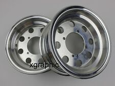 "F 2.75x8"" R 3.50x8"" Offset Rims Wheels Honda Monkey Z50 Z50R Z50J Bike 90MM #1"