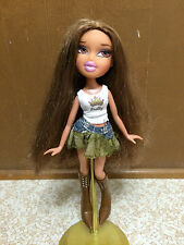 Talking Bratz Yasmin Interactive Posed Doll With Permanent Shoes Boots