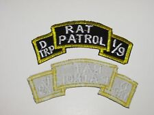 b8291 US Army Vietnam D Troop 1st Squadron 9th Calvary Rat Patrol