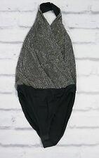 Future Vintage: Ralph Lauren Collection Beaded Halter Body Top w/Box US10/UK12