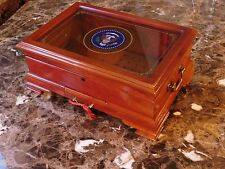 Authentic VIP White House Bill Clinton Gift Presidential Seal Humidor Large Vers