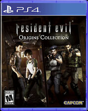 NEW Resident Evil Origins Collection (Sony PlayStation 4, 2016) PS4