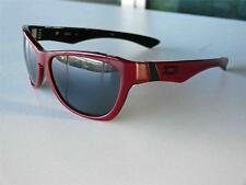 Oakley Jupiter LX sunglasses BRICK RED frame grey lenses New