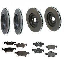 Mercedes W164 GL450 07-12 Genuine Front+Rear Rotors with Pads Brake Kit