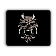 Horn Skull Computer Gaming Mouse Mat Pad Desktop Laptop Mouse