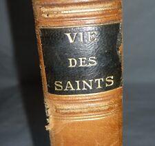 Livre  L'Abbé L. Jaud La vie des Saints tous les jours de l'année Roger Broders