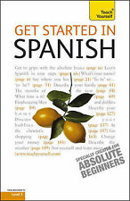 Gonzalez-Hevia, Angela Get Started in Spanish: Teach Yourself Very Good Book